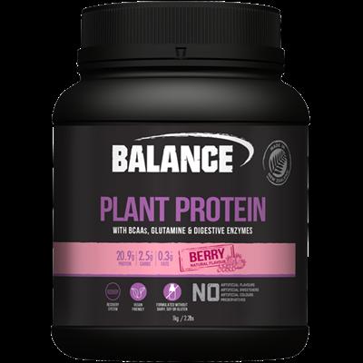 Naturals Plant Protein - Berry 1kg Balance