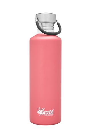 Classic Single Wall Bottle - Dusty Pink 750ml Cheeki