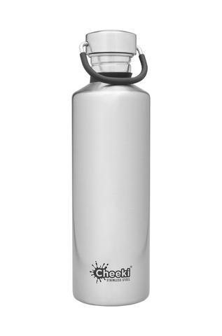 Classic Single Wall Bottle - Silver 750ml Cheeki