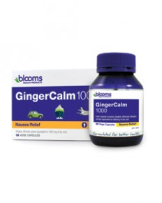 GingerCalm 1000 90 Vege Caps Blooms