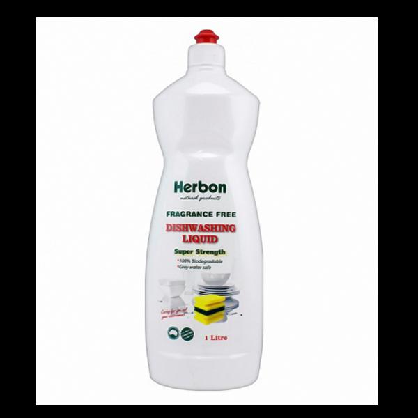 Dishwashing Liquid Fragrance Free 1L Herbon