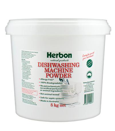 Dishwashing Machine Powder 5kg Herbon