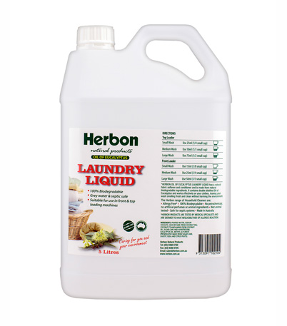 Laundry Liquid 5L Herbon