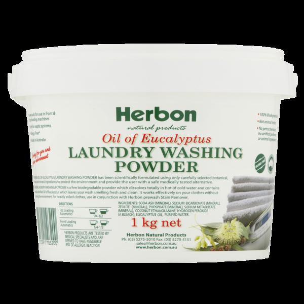 Laundry Washing Powder 1kg Herbon