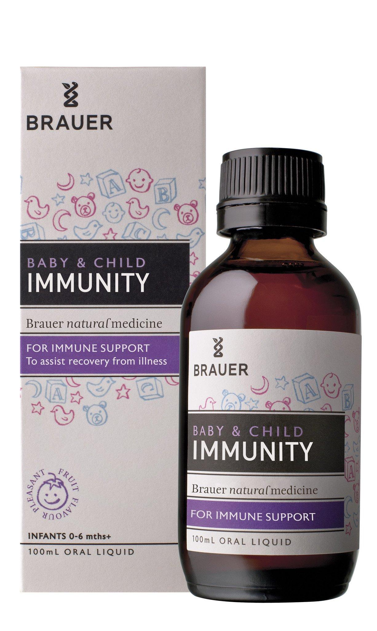 Baby & Child Immunity 100ml Brauer