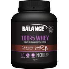Naturals 100% Whey Chocolate 1.5kg Balance