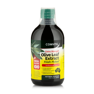 Olive Leaf Extract Peppermint Flavour 500ml Comvita