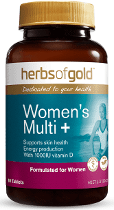 Women's Multi Plus Grapeseed 12000 60 Tabs Herbs of Gold